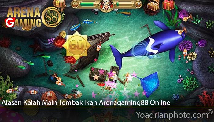 Alasan Kalah Main Tembak Ikan Arenagaming88 Online